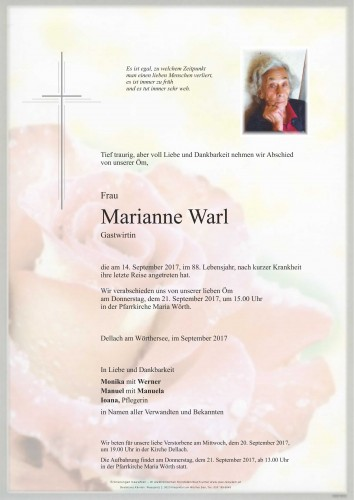 Maria Anna Warl
