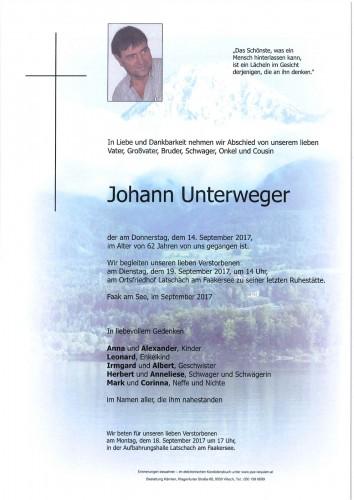Johann Unterweger