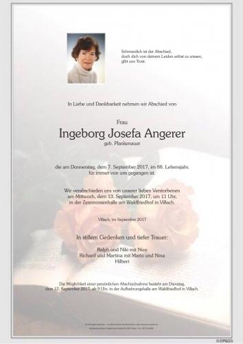 Ingeborg Josefa Angerer
