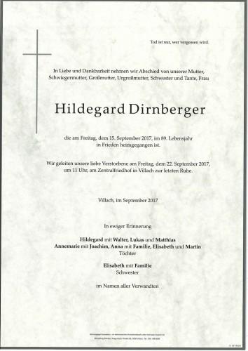 Hildegard Dirnberger