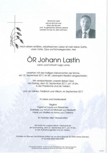 Johann Lastin