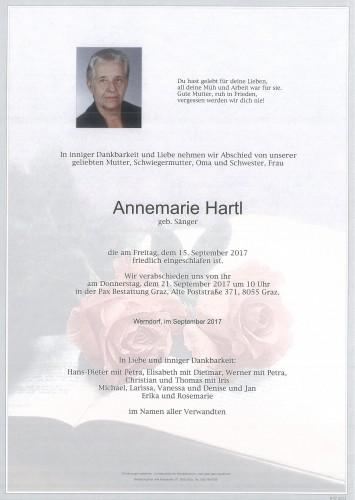 Annemarie Hartl