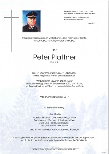 Peter Plattner
