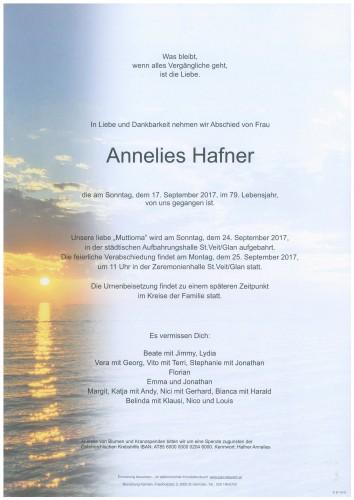 Annelies Hafner