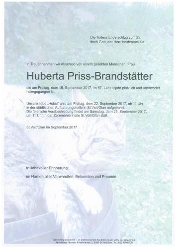 Huberta Priss-Brandstätter