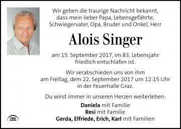 Alois Singer