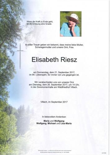 Elisabeth Riesz