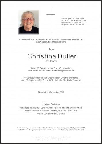 Christina Duller