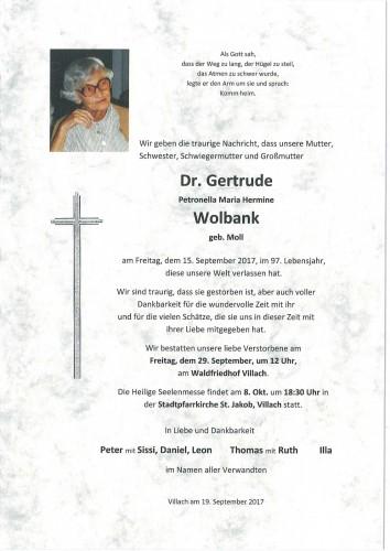 Gertrude Wolbank
