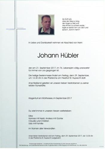Johann Hübler