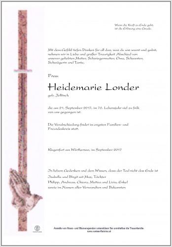 Heidemarie Londer