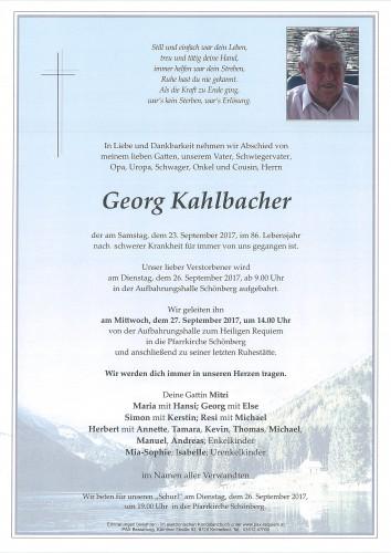 Georg Kahlbacher