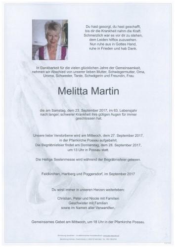 Melitta Martin