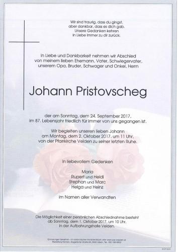 Johann Pristovscheg