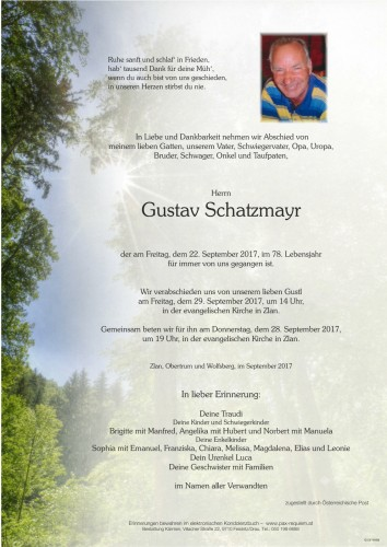 Gustav Schatzmayr