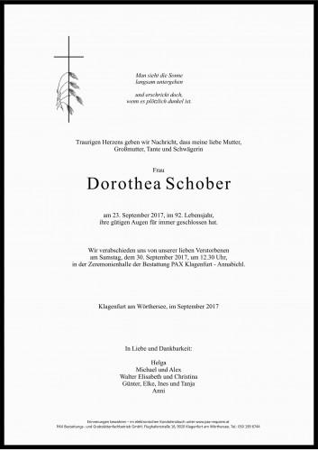 Dorothea Schober