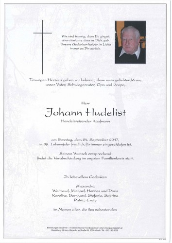 Johann Hudelist