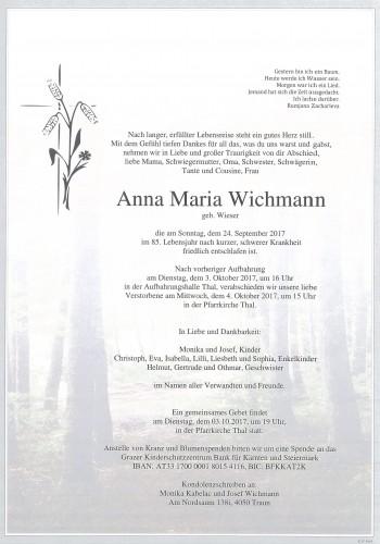 Anna Maria Wichmann