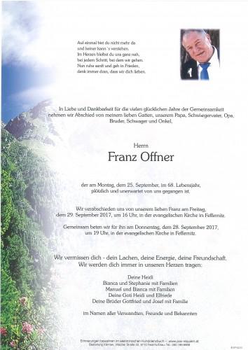 Franz Offner