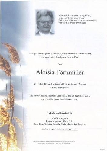 Aloisia Fortmüller