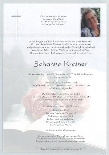 Johanna Krainer