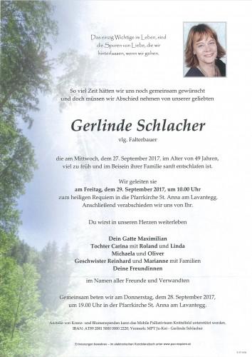 Gerlinde Schlacher, vlg Falterbauer