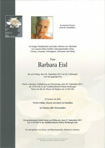 Barbara Eisl