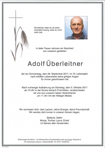 Adolf Überleitner