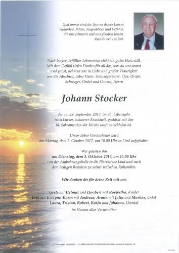 Johann Stocker