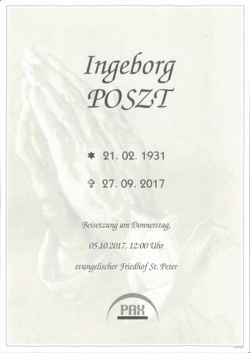 Ingeborg Poszt
