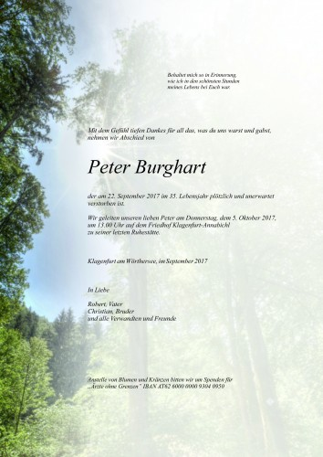 Peter Burghart