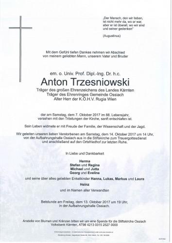 Dipl.-Ing. Anton Trzesniowski