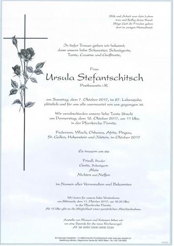 Ursula Stefantschitsch