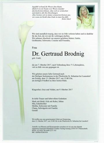 Dr. Gertraud Brodnig