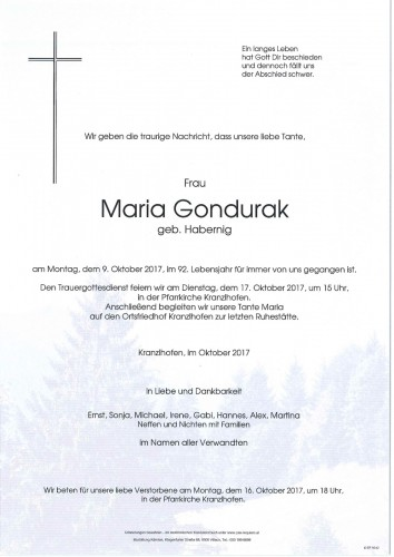 Maria Gondurak