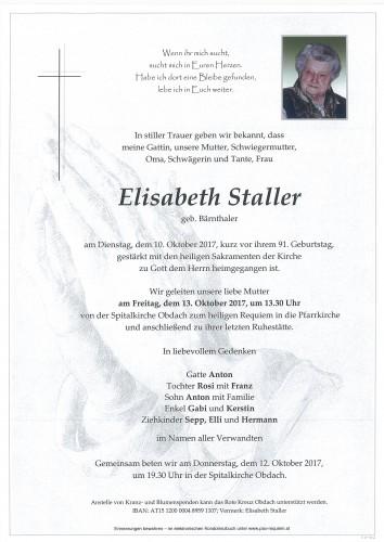 Elisabeth Staller