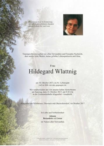 Hildegard Wlattnig