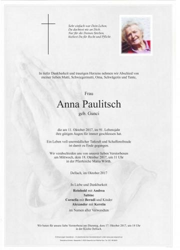 Anna Paulitsch
