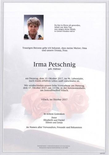 Irma Petschnig