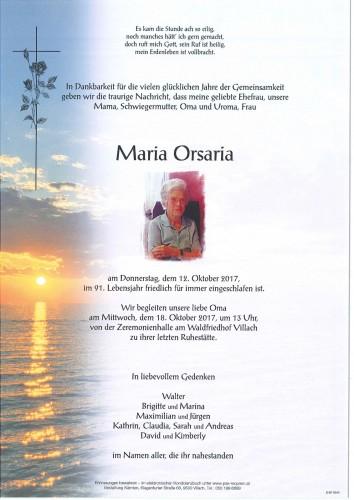 Maria Orsaria
