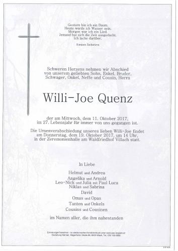 Willi-Joe Quenz