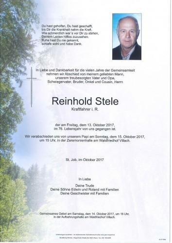 Reinhold Stele