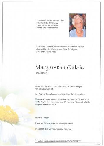 Margaretha Gabric