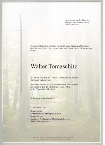 Walter Tomaschitz