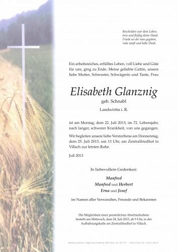 Elisabeth Glanznig