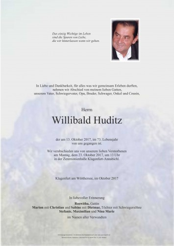 Willibald Huditz