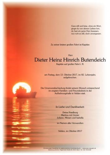 Dieter Heinz Hinrich Butendeich