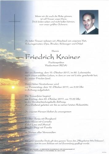 Friedrich Krainer