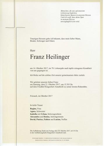 Franz Heilinger