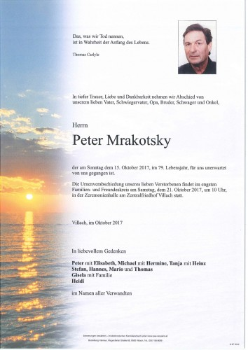 Peter Mrakotsky